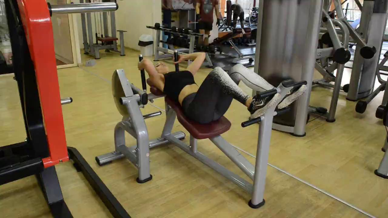 Коремни преси на машина / Abdominal press machine / 4x20