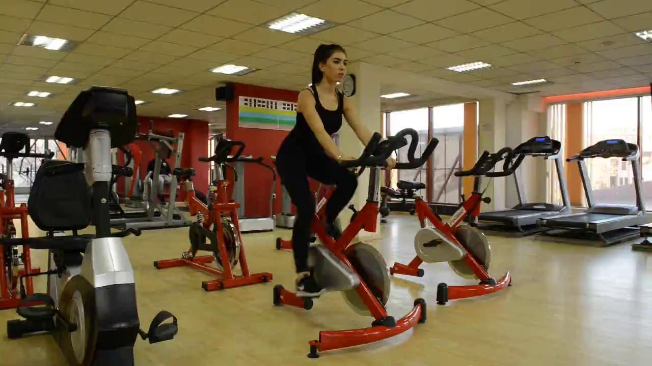 Велоергометър 10мин / Exercise bike 10 min